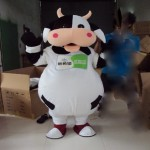 Ростовая кукла Корова на рекламную акцию.