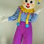 ростовая кукла скоморох