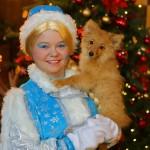 Снегурочка с Собакой!