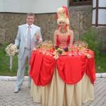 Леди Фуршет на свадьбу