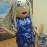 Ростовая кукла Восточная красавица!
