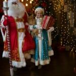 Дед Мороз и Снегурочка с Собакой!