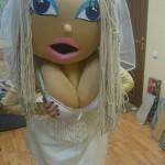 Ростовая кукла Невеста на свадьбу!