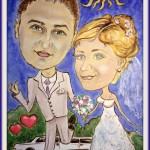 шаржи на свадьбу