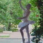 Живая статуя -Балерина!