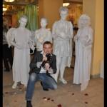 живые статуи-