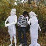 живые статуи Греческие