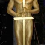 """Живая статуя """"Оскар"""""""