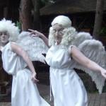 Костюм ангела мима